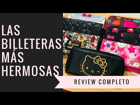 REVIEW!! Billeteras Largas para Mujer de Hello Kitty, Sailor Moon, Tokidoki