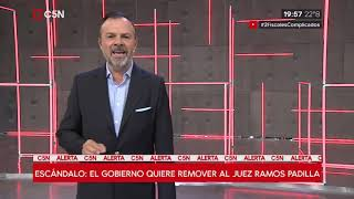 D'Alessiogate: El Gobierno quiere remover al juez federal Alejo Ramos Padilla