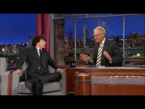 Jesse Eisenberg On David Letterman Show 16 May, 2013
