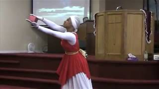 The Anointed Heavenly Hands Dance Alabaster Box By CeCe Winans