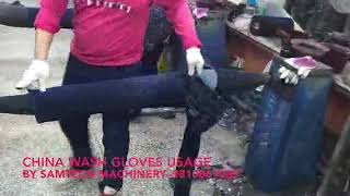 HAND GLOVES VIDEO FOR CHINA