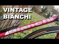 You Won't Believe The Condition! Vintage Bianchi Campione D'italia Road Bike