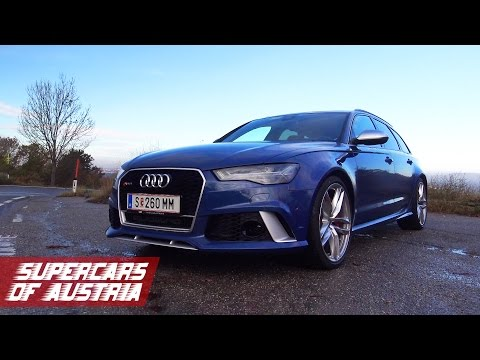 0 Audi Rs6 2014 Akrapovic Brutal Exhaust Sound