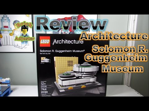 Playing with Lego #439 - Solomon R. Guggenheim Museum - Architecture (Review) LEGO 21035