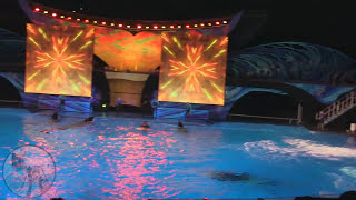Shamu Celebration Light Up the Night at SeaWorld Orlando Full Show HD