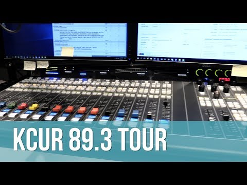 KCUR 89.3 Master Control Room Tour