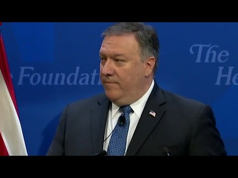 "Pompeo: Iran to face ""strongest sanctions in history"""