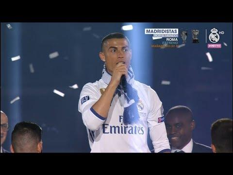 Celebración 12 Champions Real Madrid   12th UCL Celebration Show (Santiago Bernabeu) #CHAMP12NS
