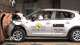 Euro NCAP Crash Test of Citroën C3