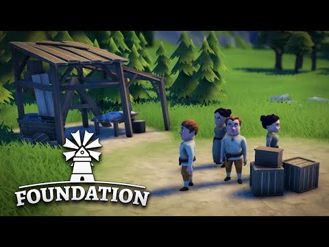 BUILDING THE PERFECT VILLAGE! - FOUNDATION