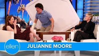 Download Julianne Moore Gets Scared by 'Evan Hansen'