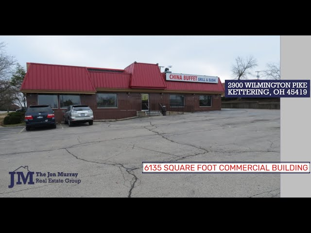 Kettering Commercial Property for Sale   2900 Wilmington Pike Kettering OH 45420