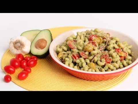 Creamy Avocado Pasta Recipe - Laura Vitale - Laura in the Kitchen Episode 928