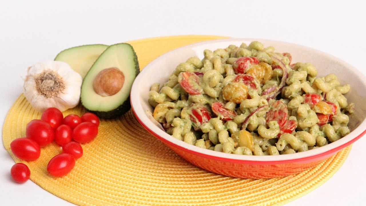 Creamy Avocado Pasta Recipe - Laura Vitale - Laura in the Kitchen Episode 928