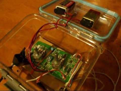 Homemade Waterproof Metal Detector