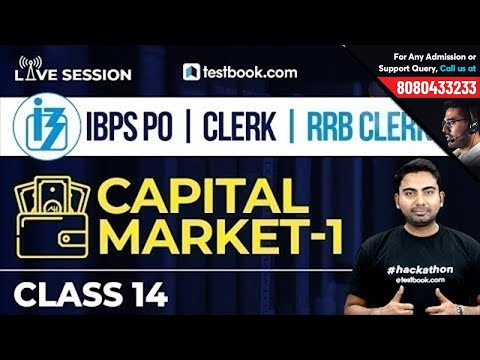 IBPS PO | RRB : Financial & General Awareness Class 14 | Capital Market - 1 | Abhijeet Sir