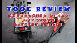 tool review schumacher bt 100 battery load tester