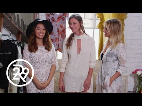 Jenn Im Meets The For Love And Lemons Designers | Hangtime With Jenn Im | Refinery29