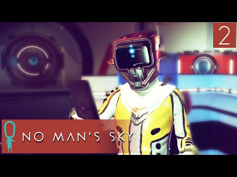 No Man's Sky Gameplay - Part 2 - Leaving The First Planet - Let's Play - Explore, Fight, Survive