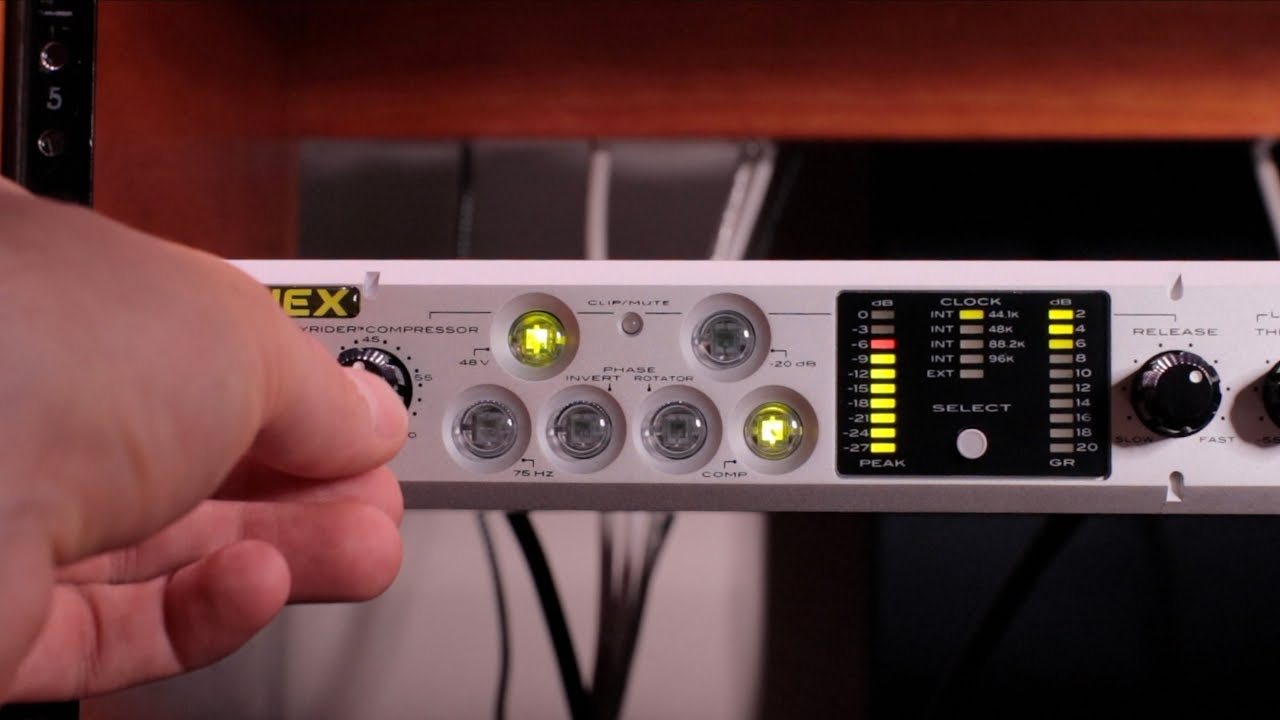 aphex channel tube preamp review and demo youtube. Black Bedroom Furniture Sets. Home Design Ideas