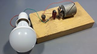 Free energy electrical generator using magnet DC motor || new ideas 2018