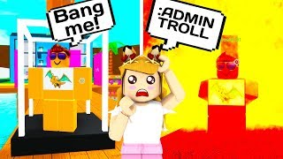 USING ADMIN COMMANDS ON ONLINE DATER // Roblox Life in Paradise // Roblox Admin Command Trolling