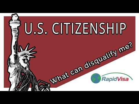 What Can Disqualify
