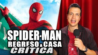 Reseña Crítica SPIDER-MAN: HOMECOMING / De Regreso a Casa - Review sin Spoilers