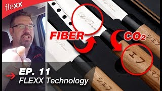 CO2 laser vs. Fiber laser | FLEXX laser from Trotec