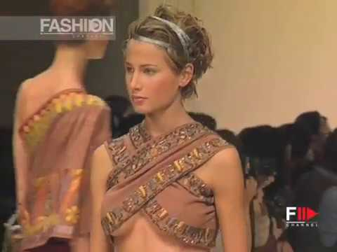 ROMEO GIGLI Spring Summer 1994 Paris - Fashion Channel