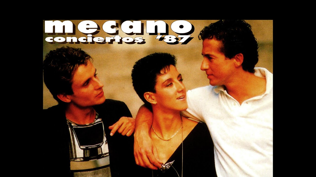 MECANO - CONCIERTO'87 Caracas - Poliedro