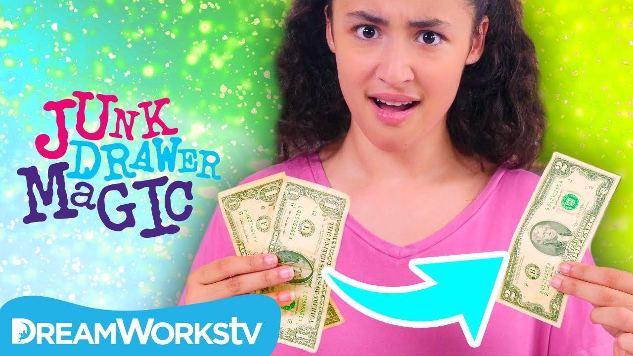 Magic Money Trick | JUNK DRAWER MAGIC - YouTube