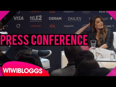 "Armenia press conference - Iveta Mukuchyan ""LoveWave"" Eurovision 2016 