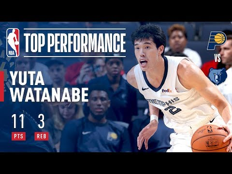 Yuta Watanabe has a Strong Performance for Memphis in Overtime Thriller