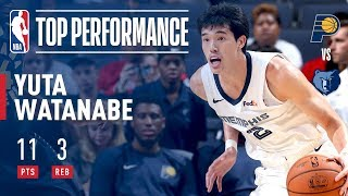 Yuta Watanabe has a Strong Performance for Memphis in Overtime Thriller! | 2018 NBA Preseason thumbnail