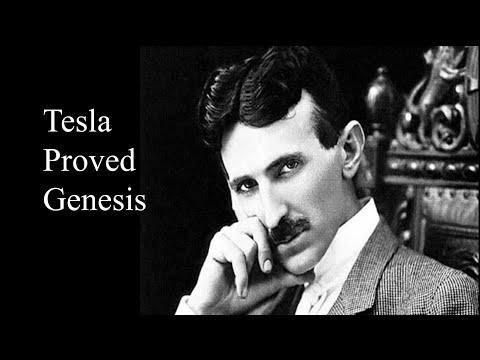 Tesla Proved Genesis - A Flat Earth Short