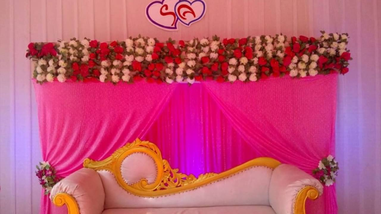 Madurai Decorators Wedding stage decoration @ St Andrews Church ...