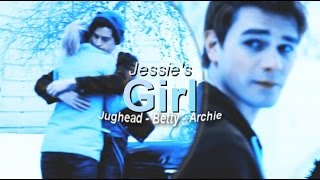 jessie s girl riverdale betty jughead and archie 1x13