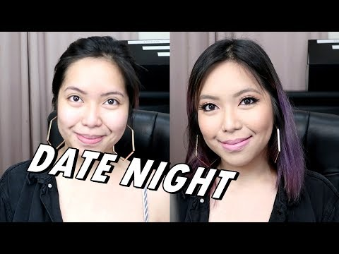 MAKEUP FOR A DATE NIGHT! ft. SWATCHFEST Maybelline SuperStay Matte - saytioco
