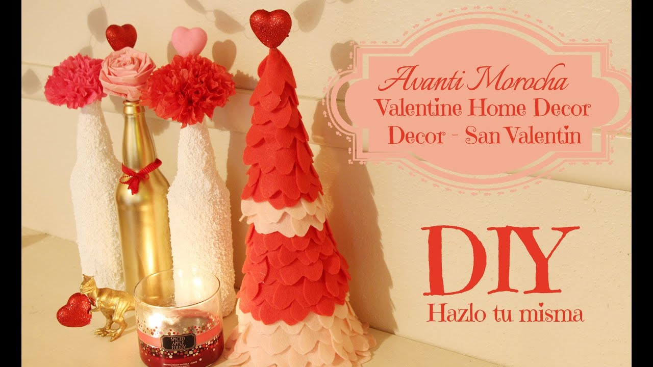 diy valentine -ideas para san valentin/ love tree / valentine's day