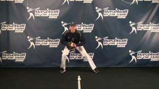Fielding ground balls hit right at you
