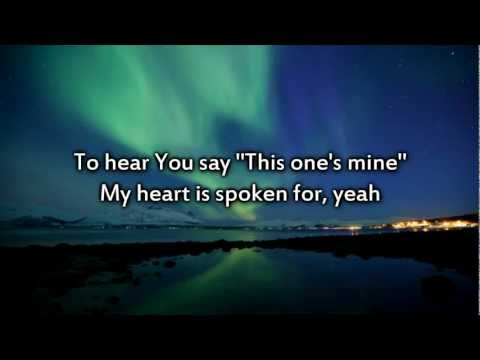 MercyMe - Spoken For - Instrumental with lyrics