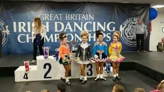 2017 U9 Great Britains Irish Dancing Competition Brighton UK