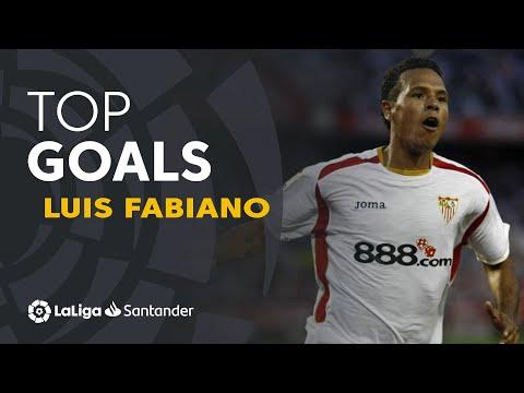 Luis Fabiano: Sevilla FC Best Goals in LaLiga Santander