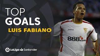 Luis Fabiano: Golazos con el Sevilla FC en LaLiga Santander