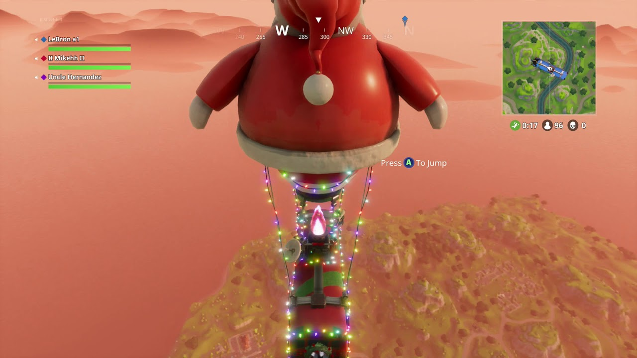 Image result for fortnite santa bus