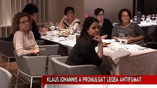 KLAUS IOHANNIS A PROMULGAT LEGEA ANTIFUMAT