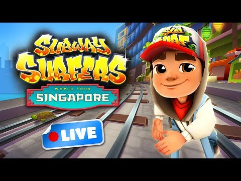 🎮 Subway Surfers World Tour 2017 - Singapore Gameplay Livestream