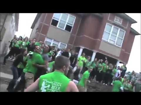 Indiana University of Pennsylvania Brawl Caught On Camera