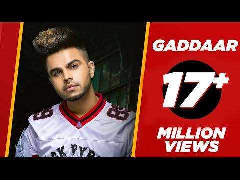Gaddaar (Official Video) | Akhil ft Ikka | BOB | Latest Punjabi Songs 2019